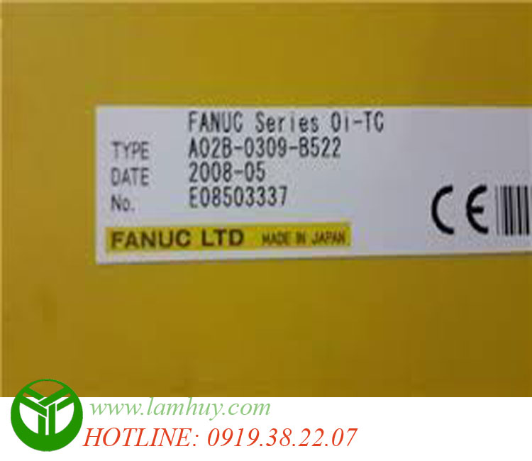 FANUC A02B-0309-B522 Oi-MC