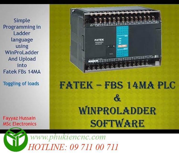 BỘ LẬP TRÌNH PLC FATEX FBs/FBe-14/40/60MA